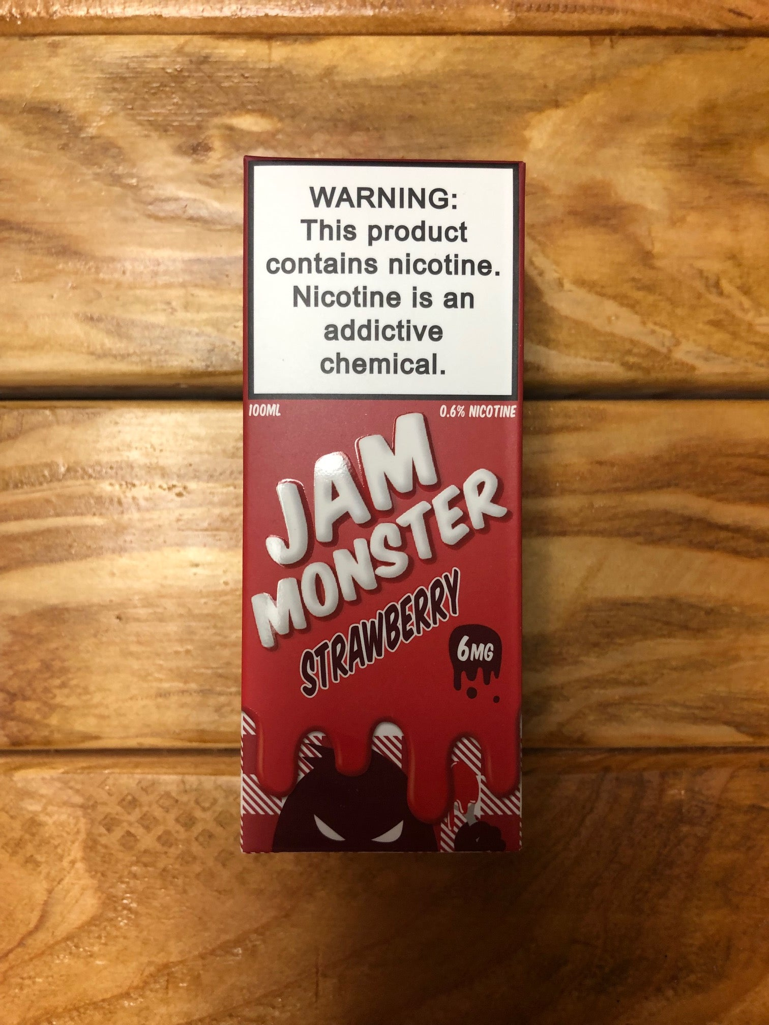 Jam Monster Strawberry 100ml 6mg