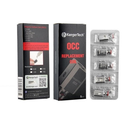 Kangertech OCC Replacement Coil (Pack of 5)