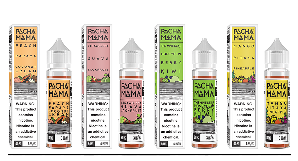 PACHAMAMA BY CHARLIE'S CHALK DUST E-LIQUID 60ML