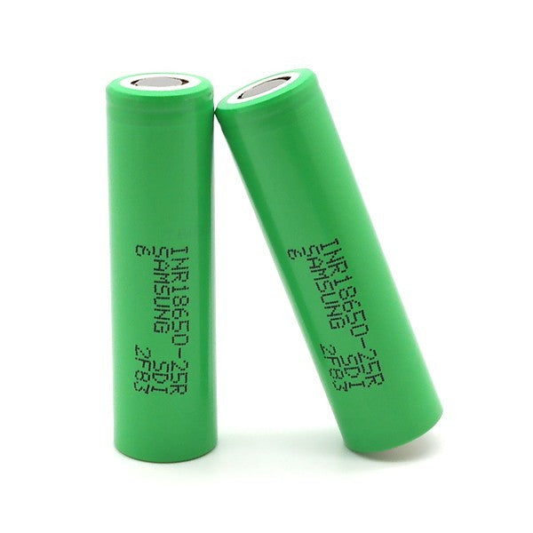 Samsung 3.7V 2500MAH 18650 Li - ion Battery (INR18650 - 25R)