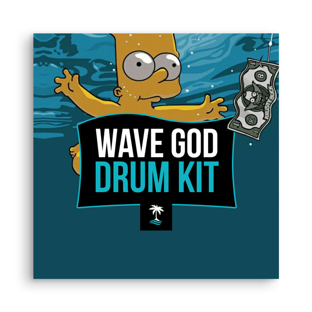 Kid Ocean - Wave God Drum Kit