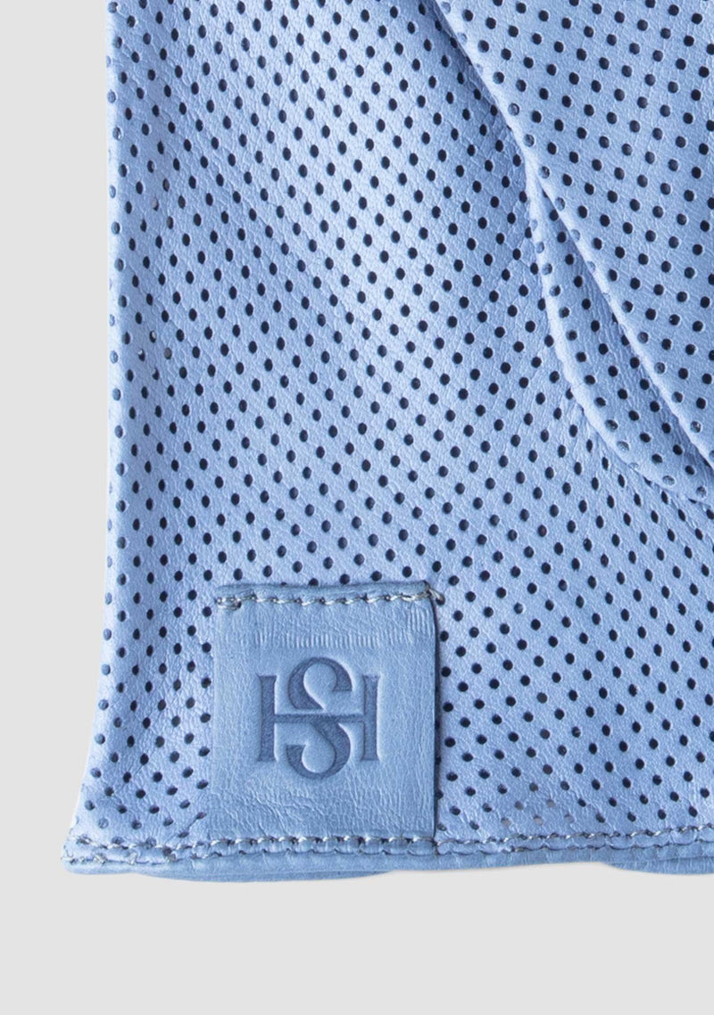 Statement Perforated Blue