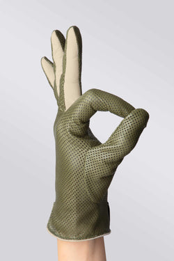 Statement Perforated Verde