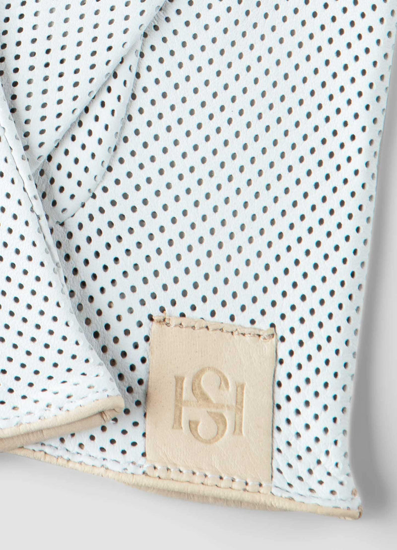 Statement Perforated White