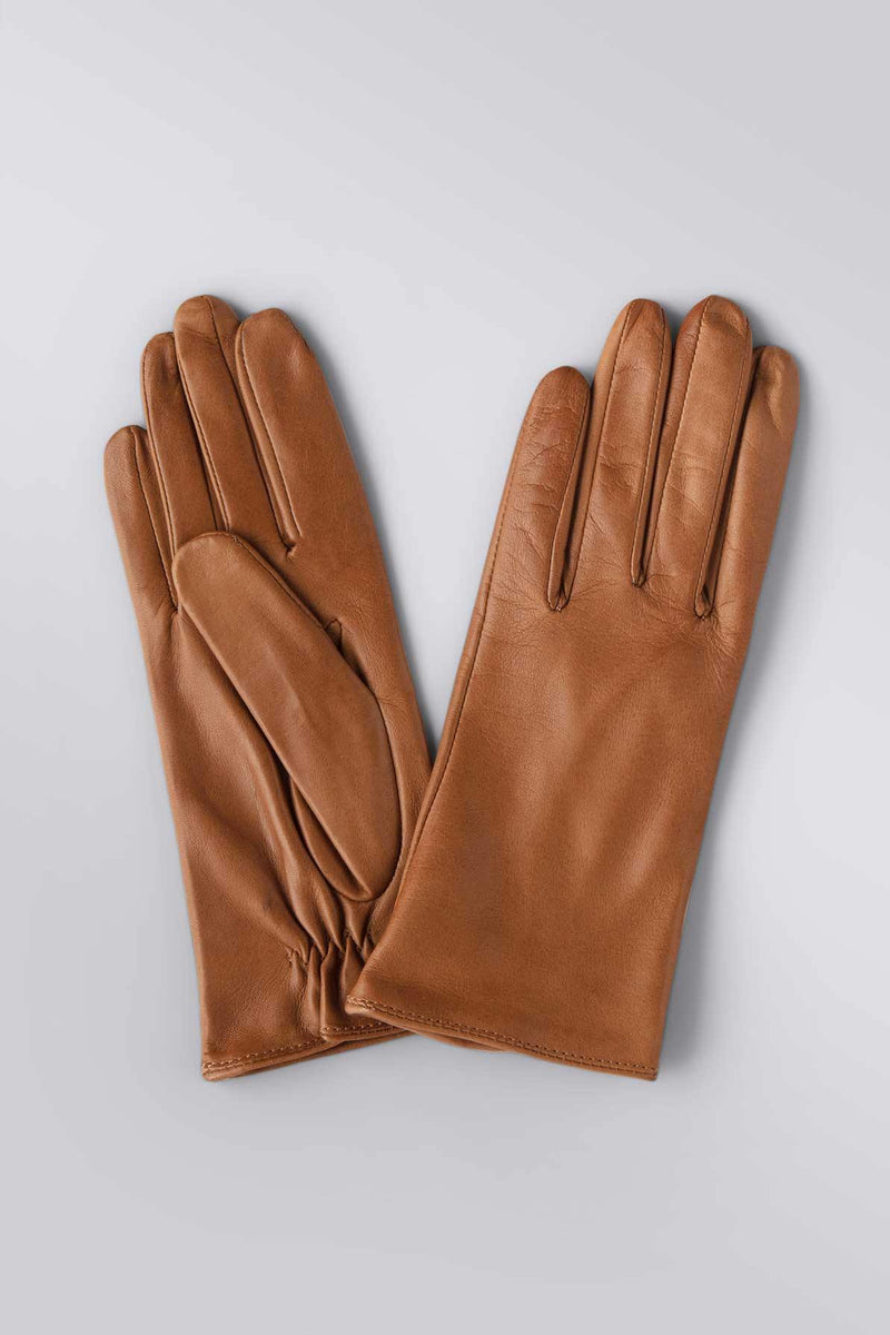 Washable Leather Camel