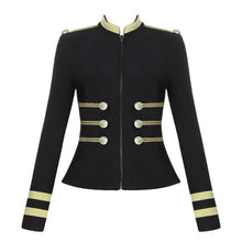 Stylish Stand-Up Collar Zipper Double-Breasted Suit