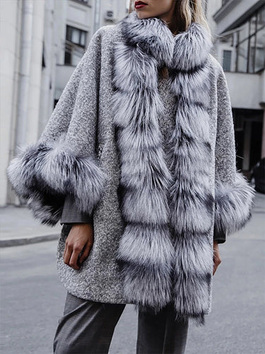 Fashion Warm Faux Fur Coat