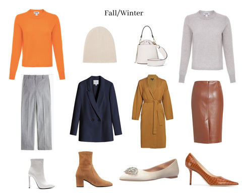 Styling the Kendall Cashmere Crewneck for Cooler Temps