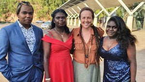 Creating Hairdressing Magic in the Tiwi Islands
