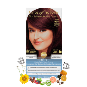 4RR - Earth Red Permanent Hair Colour