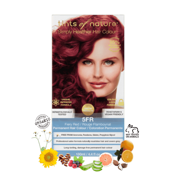 5FR - Fiery Red Permanent Hair Colour
