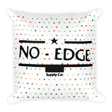 No-Edge Speckled Throw Pillow