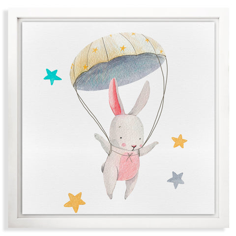 CUADRO LIENZO MAGIC RABBIT