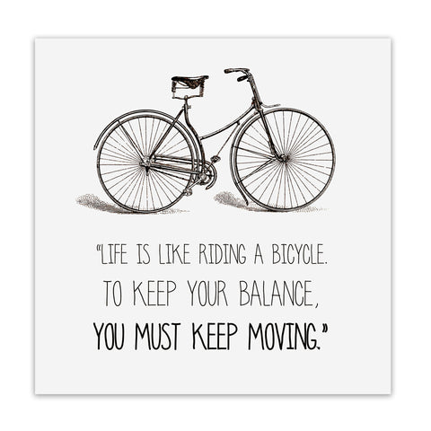 "CUADRO ""KEEP MOVING"""