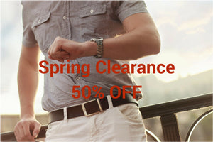 Spring Clearance Sale - 50% OFF