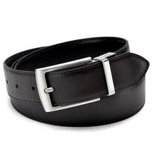 Leather Reversible Buckle Belt