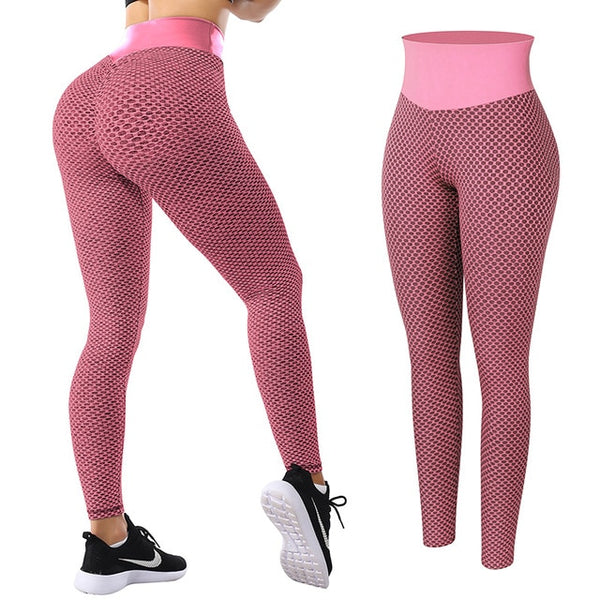 Women High Waist Leggings No See Through - Uneek Variety