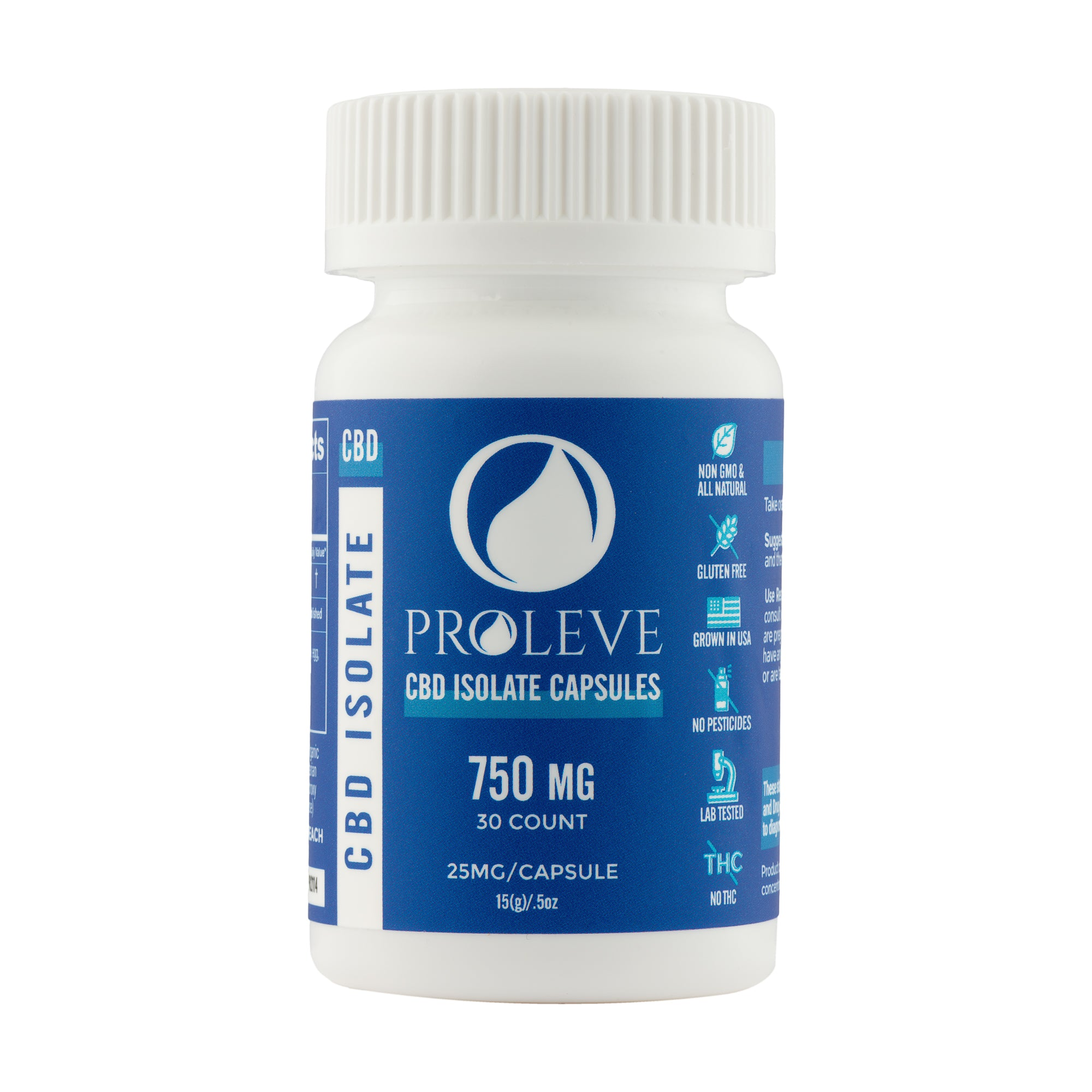 25mg Isolate Capsules 30 count