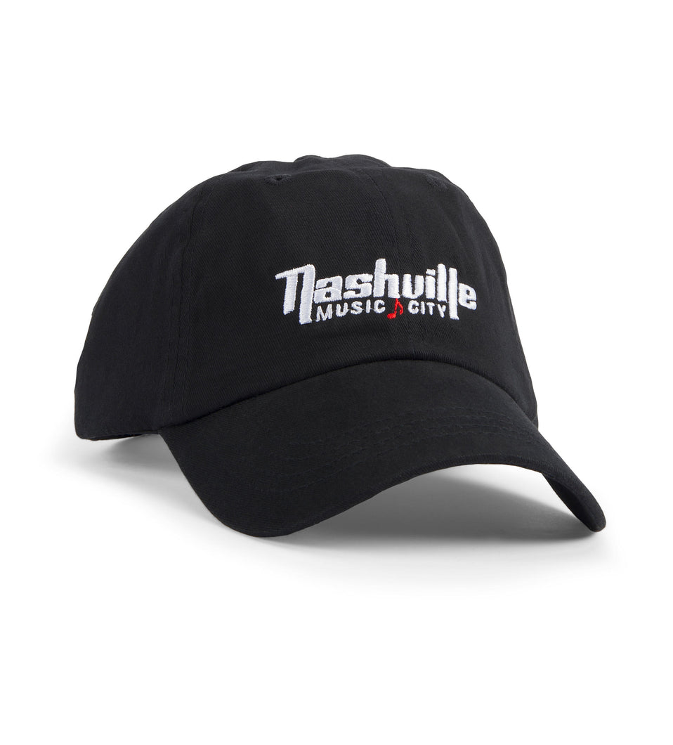 Nashville Music City Logo Hat