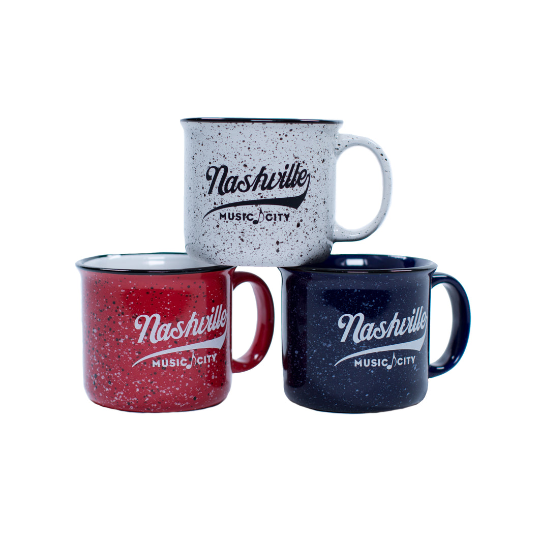 Nashville Music City Campfire Mug