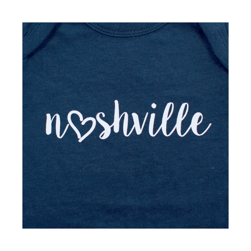 Little Bits Love Nashville Onesie