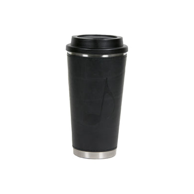 Music Note Stainless Steel Leather Tumbler