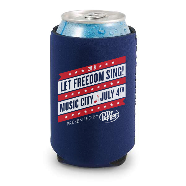 2019 July 4 Event Koozie