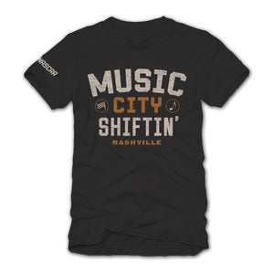 NASCAR Music City Shiftin' Short Sleeve Tee