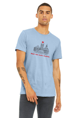 Keep The Music Playing Nashville Tee