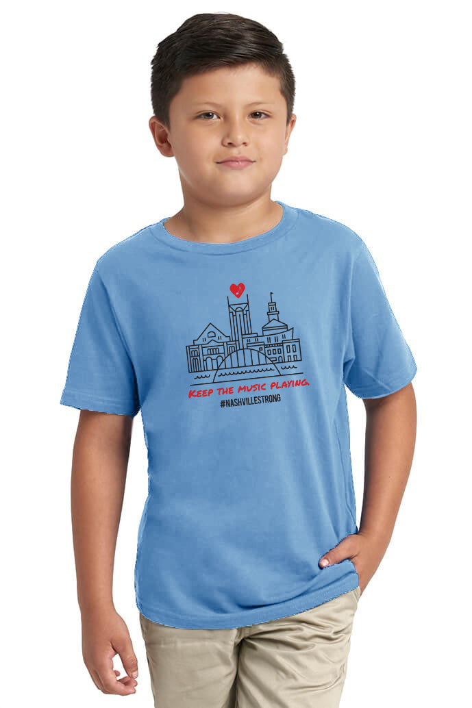Keep the Music Playing Kids Tee