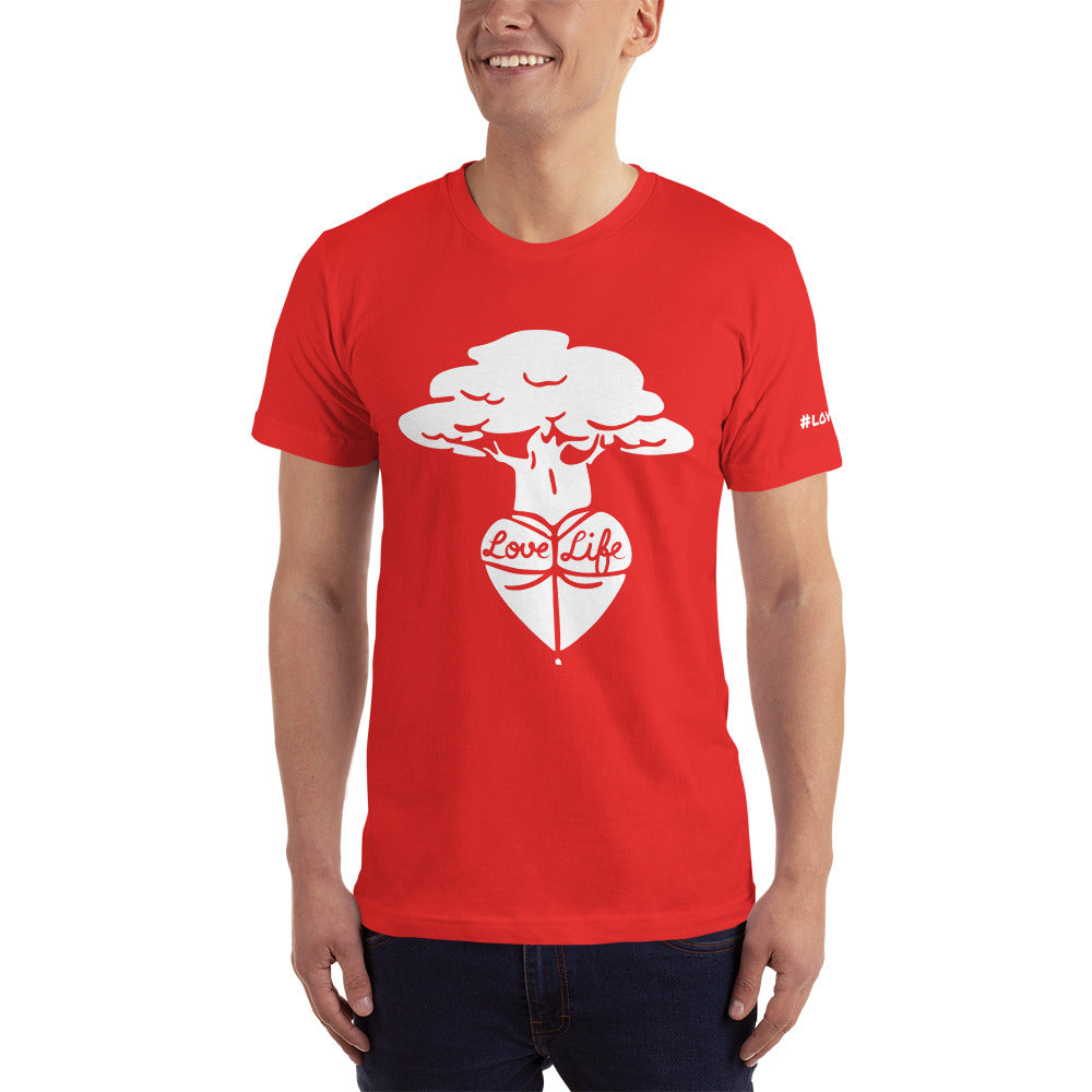TREE LOVE - Mens Short-Sleeve T-Shirt