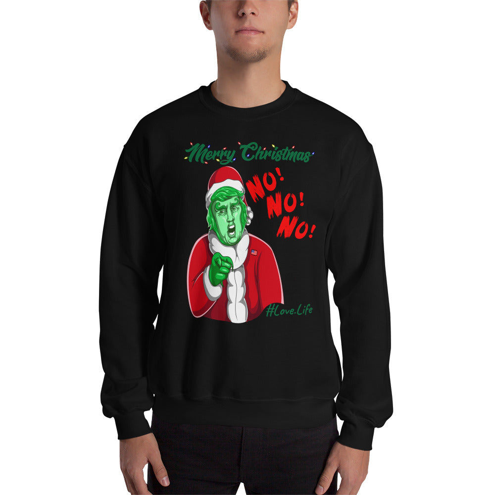 UGLY CHRISTMAS - Santa Sweatshirt