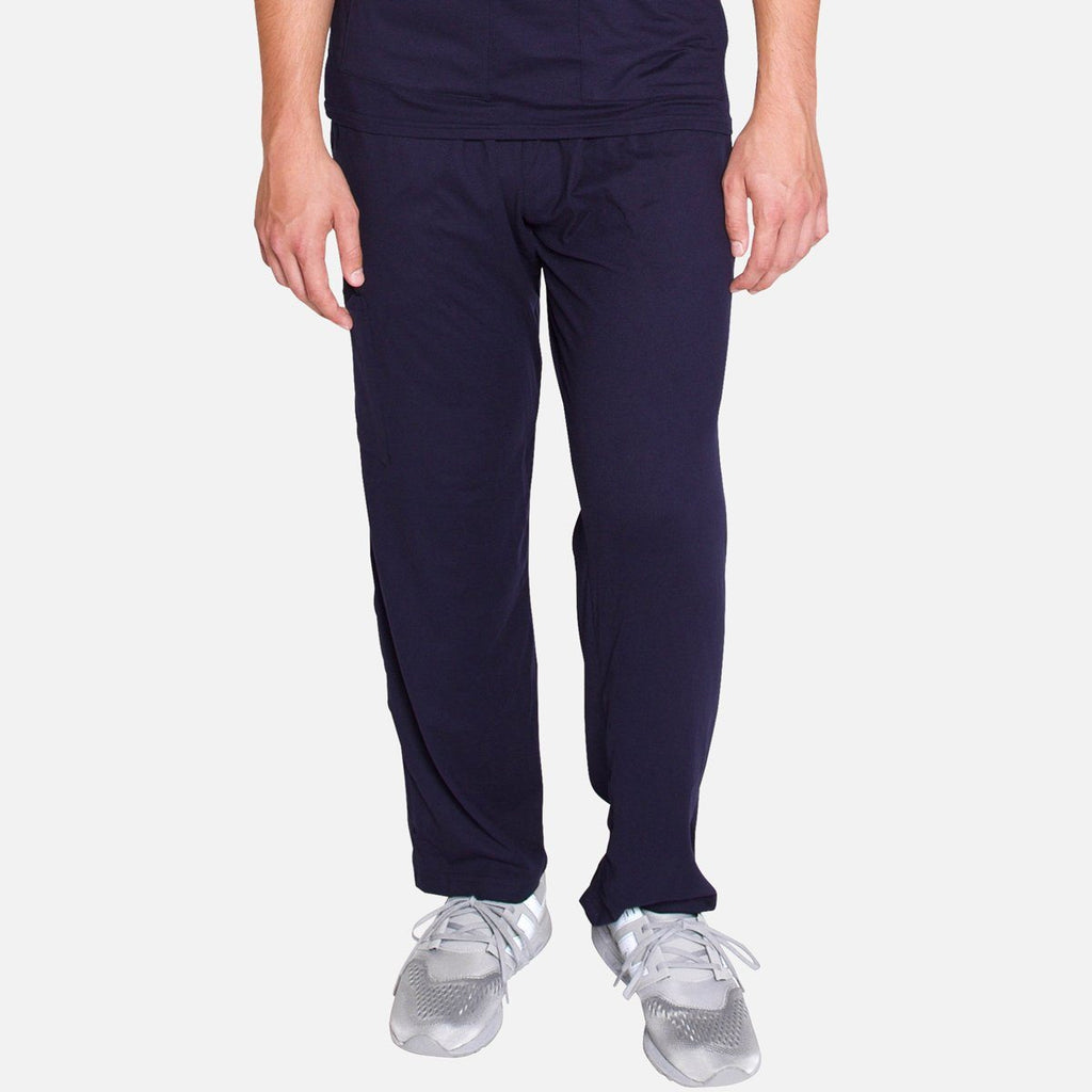 Premium Navy Men's Scrub Pants