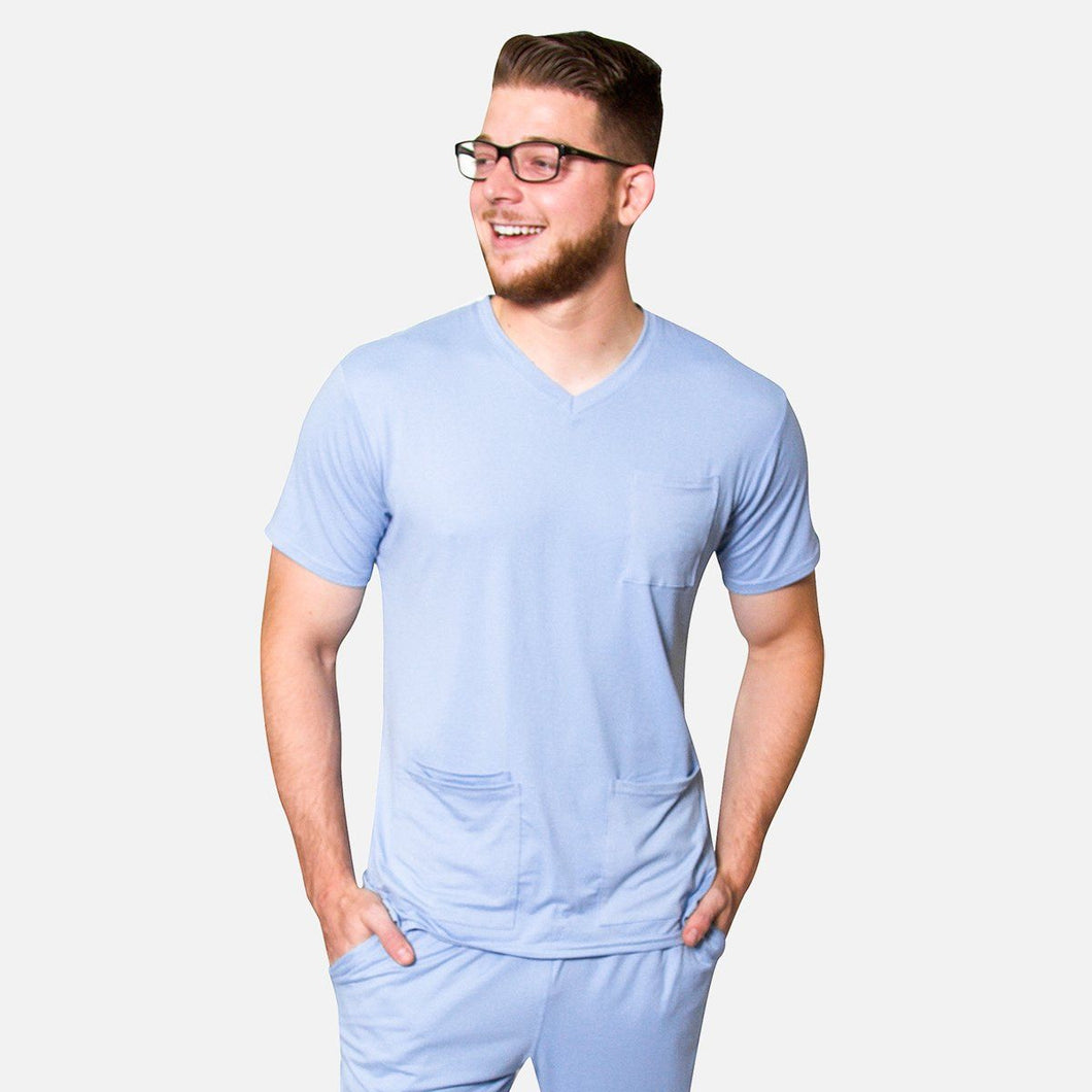 Premium Ceil Men's Scrub Top