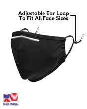 Ultra Premium Anti-Microbial, Moisture Wicking & Adjustable Ear Loop Face Mask