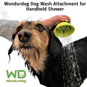 Wondurdog Dog Wash Attachment for Handheld Showers