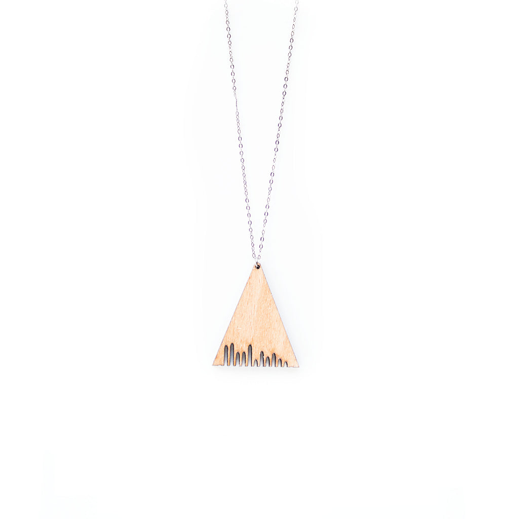 Delta Wood Necklace