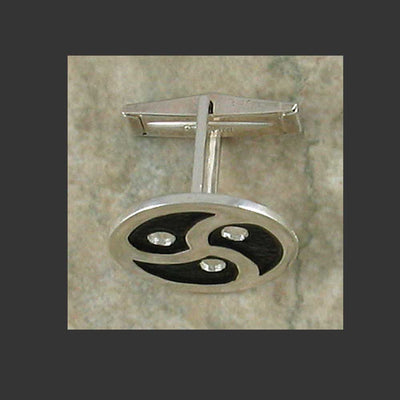 BDSM Emblem Symbol cuff links