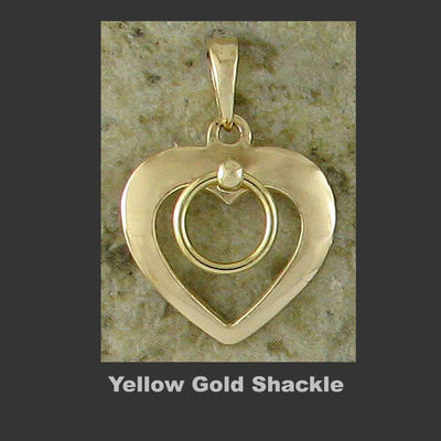 Shackled Hearts - Made in Yellow Gold