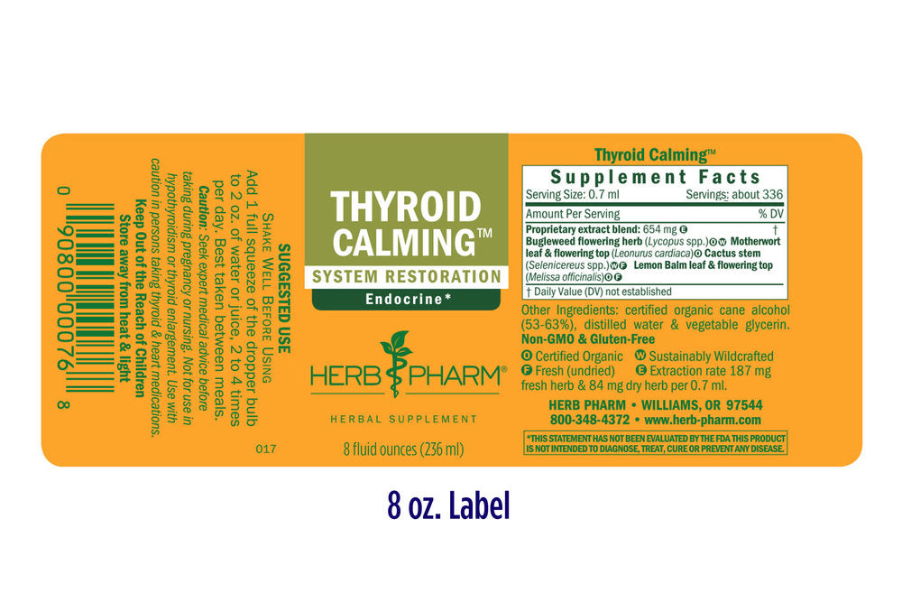 Thyroid Calming