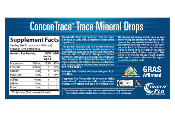 ConcenTrace Trace Mineral Drops