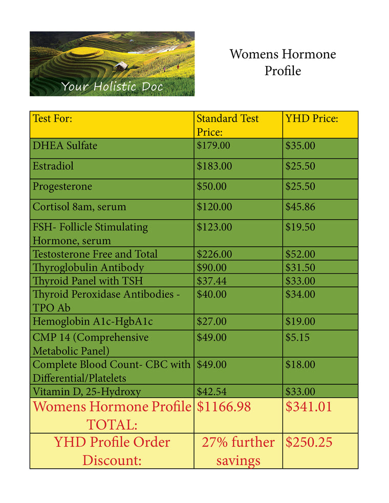 Women's Hormone Profile