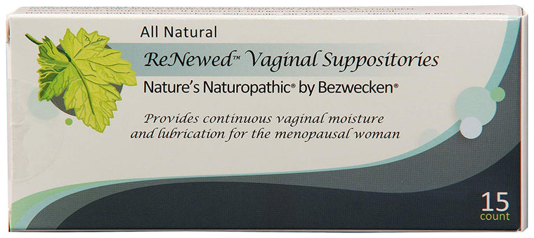 Renewed DHEA and herbal vaginal suppository