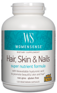 WomenSense Hair, Skin & Nails SuperNutrient Formula