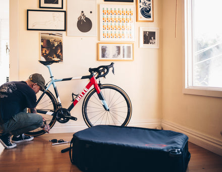 Packing your bike for travel - what to prepare and bring