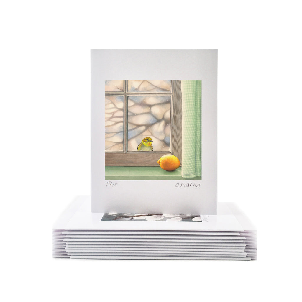 Fellow Yellow - Wholesale Art Cards