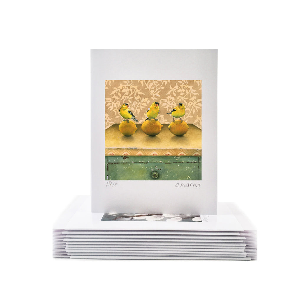 Lemon Line - Wholesale Art Cards