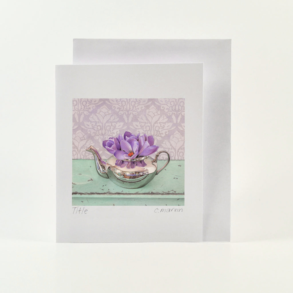 Behold the Crocus - Wholesale Art Cards