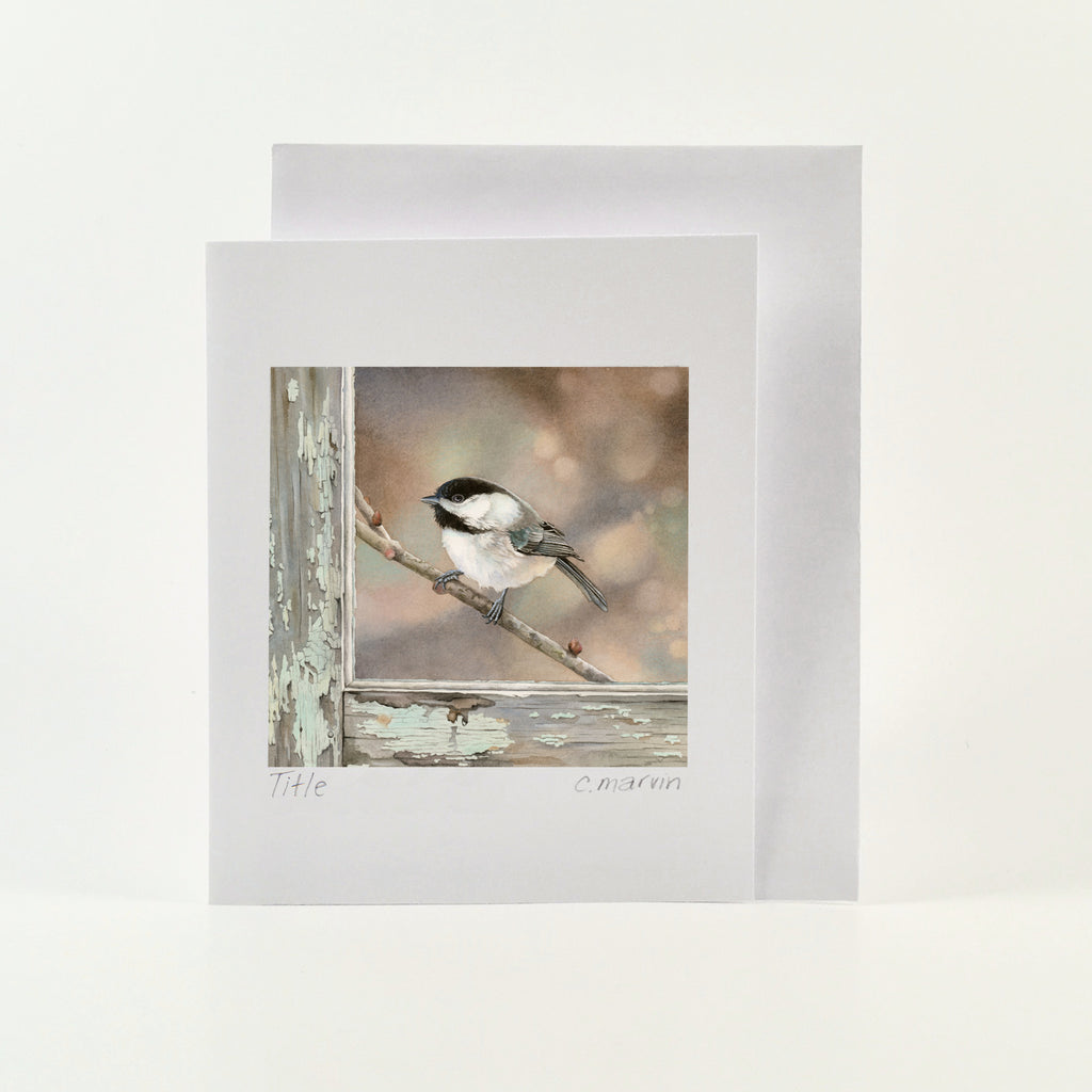 Bird on a Branch - Wholesale Art Cards