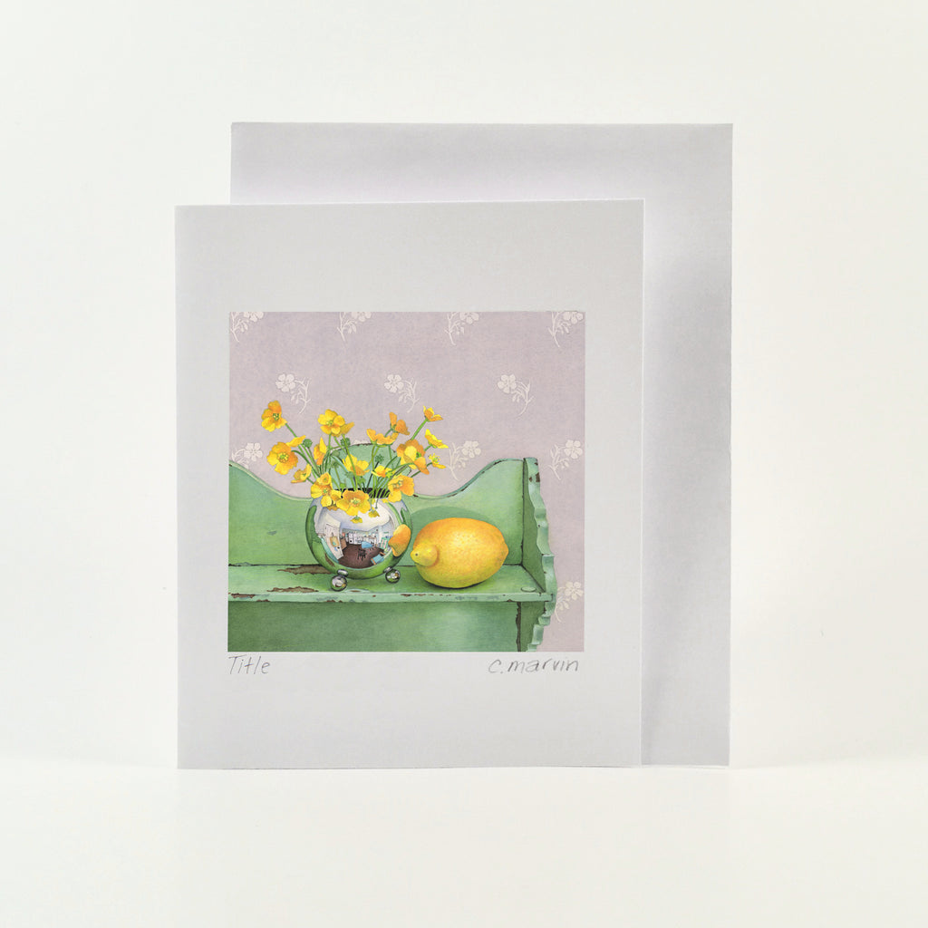 Buttercups and Lemon - Wholesale Art Cards